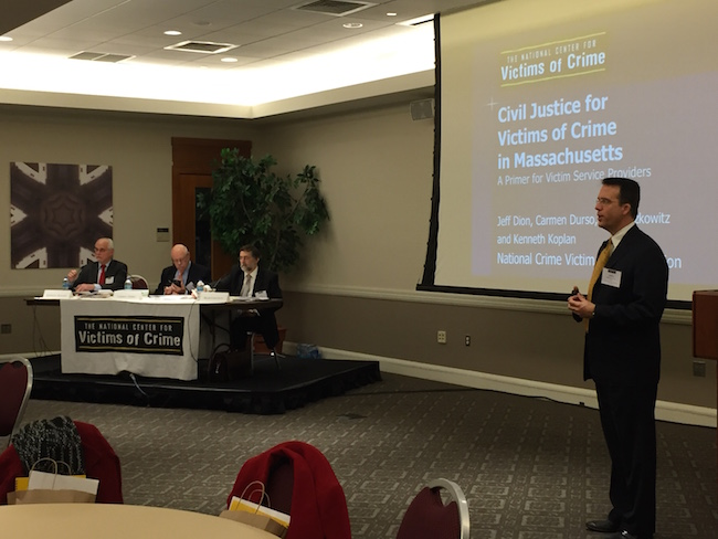 Attorney Kolpan and his colleagues were honored to present at an all day seminar